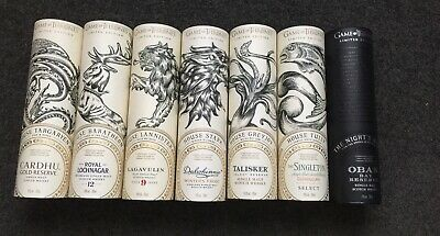 Game Of Thrones Whiskey Scotch Set