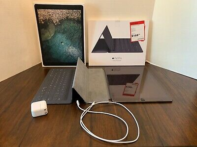 Apple iPad Pro BUNDLE 2nd Gen. 256GB, Wi-Fi + Cellular (AT&T), 12.9in Space Gray