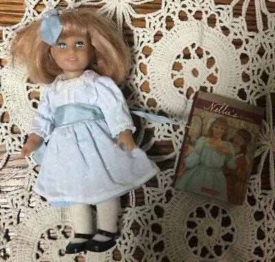 American Girl NELLIE O'MALLEY Mini Doll 6 Inches Original Soft Body With Book