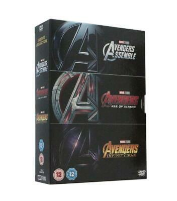 Marvel Avengers 1-3 DVD Box Set new and sealed, free delivery