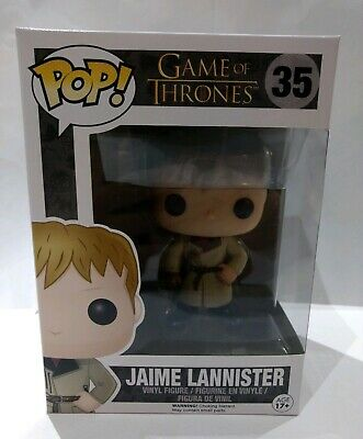 BOX FLAWS Funko Pop TV HBO Game Of Thrones Golden Hand Jaime Lannister VAULTED