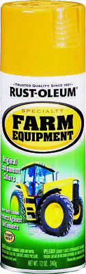 Rustoleum Specialty 7449830 Rust Preventive Farm Equipment Spray Paint, 12 oz