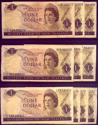 NEW ZEALAND: 20 x BEAUTIFUL $1 NOTES:  for YOUR CHILDREN?   NO  RESERVE