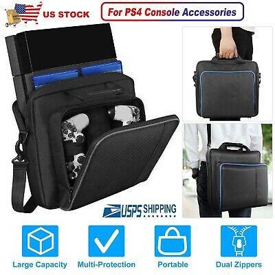 For PS4/PS4 Slim/PS3 Game Consoles Accessories Shoulder Bag Travel Carry Case US