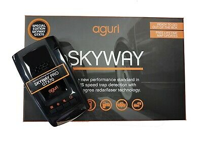 Aguri Skyway Pro GTX70 GPS Radar Laser Speed Trap Detector