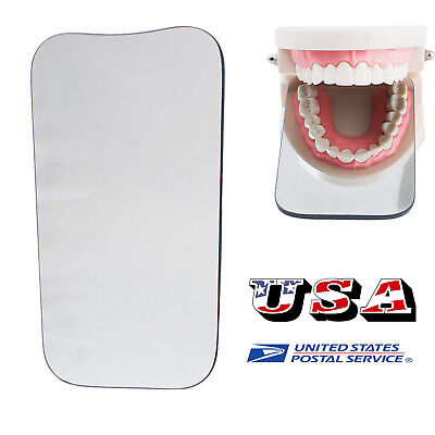 Sale Dental Orthodontic Photo Mirror Intraoral Mouth Glass Reflector 2 Sides Set