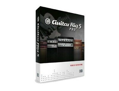 NATIVE INSTRUMENTS - Guitar Rig 5 PRO (FULL VERSION) for Windows [DOWNLOAD]