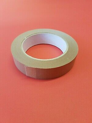 25mm x 50m Brown Self Adhesive Backing Tape Picture Framing LOTS OF PACK SIZES!!