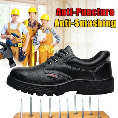 US Men Indestructible Ultra X Steel Toe Work Boots Protect Outdoor Hiking Shoes