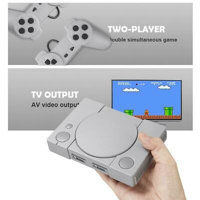 Classic 8-bit PS1 Mini Home Game Console Built-in 620 Game Classic Double Game