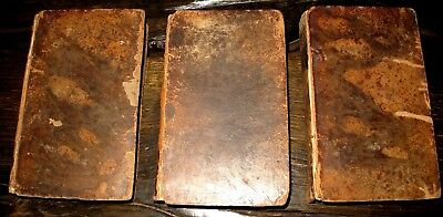 3v 1805-6 WILLIAM SHAKESPEARE Plays AMERICAN EDITION Antique DRAMA Meadville PA