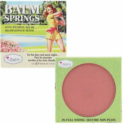 Balm Springs Blush Highlighter, The Balm Cosmetics,