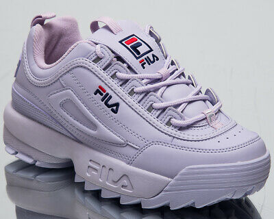 793a43af1a Fila Disruptor Low Womens Orchid Petal Sneakers Chunky Casual Shoes  1010302-71C