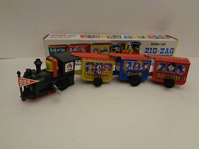 Vintage ZIG-ZAG COMIC WESTERN EXPRESS Made in Korea