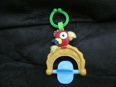 Baby Hanging Car Seat Crib Plastic Teething Toy Infant  Parrot