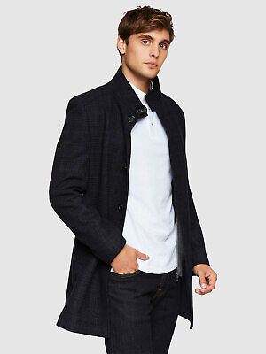 Dunbar Checked Coat Mens Jackets And Coats