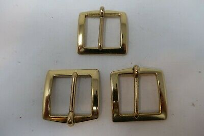 Lot of 3 Vintage and Antique Belt Buckles