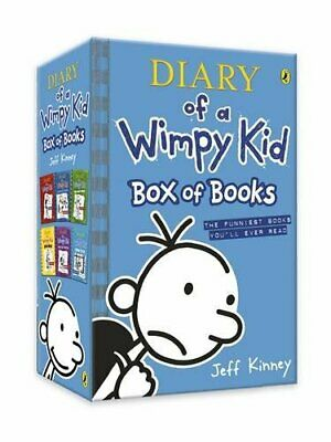 Diary of a Wimpy Kid Box of Books (books 1-6)   Kinney Jeff Paperback NEW