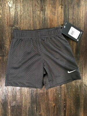 394195e5431 NWT BOYS TODDLER Nike Mesh Athletic Shorts Dark Gray Heather 76E700 ...