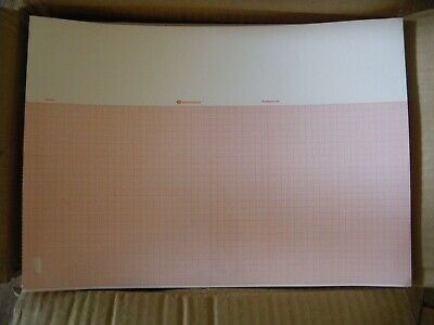 box of medical Thermal recording chart paper mg 709 med graphics HP page writer