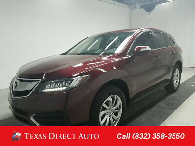 2017 Acura RDX 4dr SUV w/Technology Package Texas Direct Auto 2017 4dr SUV w/Technology Package Used 3.5L V6 24V Automatic