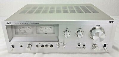 JVC JA-S22 Stereo Integrated Amplifier Large VU Meters Phono Tape1 Tape2