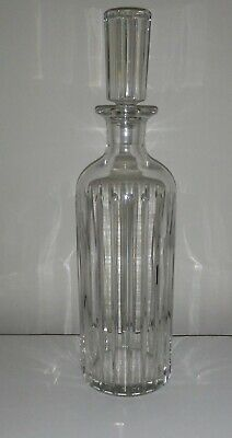 Baccarat France Crystal Glass Harmonie Decanter W/Stopper