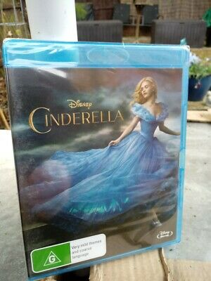 Cinderella  2015  (Blu-ray)  REGION FREE NEW AND SEALED     CHEAPEST ON EBAY