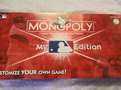 """Monopoly """"My Mlb Edition"""" Board Game"""