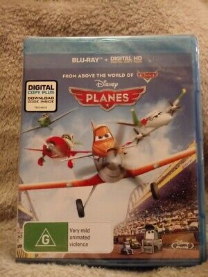 Disney Planes  Blu-Ray new and sealed Region Free cheapest on ebay