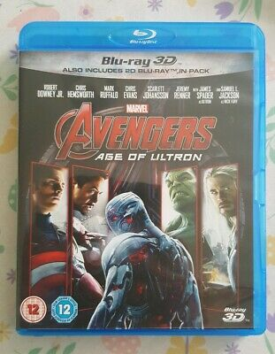 Avengers - Age of Ultron - 3D & 2D Blu Ray