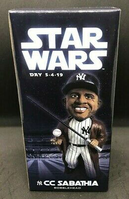 New York Yankees CC Sabathia Star Wars SGA Bobblehead 5/4/19
