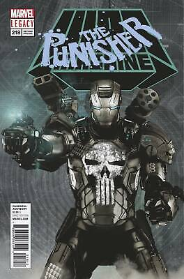 Punisher #218 2Nd Ptg Bradstreet Var Leg Marvel Comics