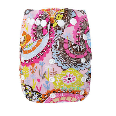 Baby One Size Cloth Diaper Reusable Pocket Nappy Newborn Adjustable GIRL COLORS