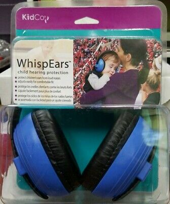 Brand New KidCo WhispEars Infant & Child Hearing Protection 0-8 Years, Blue