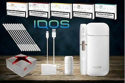 IQOS 2.4 plus Starter Kit White + 100 HEETS & Aschenbecher nach Registrierung