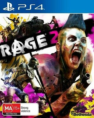 Rage 2 PS4 Sealed BRAND NEW