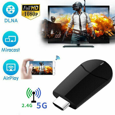 Wireless Display Dongle Receiver Miracast HD 1080P HDMI TV Work for Android iOS