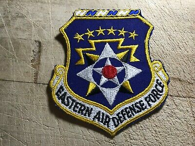 1950s/1960s? US AIR FORCE PATCH-Eastern Air Defense Force-ORIGINAL USAF BEAUTY!