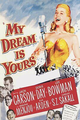 My Dream Is Yours   1949        Doris Day  Musical    DVD