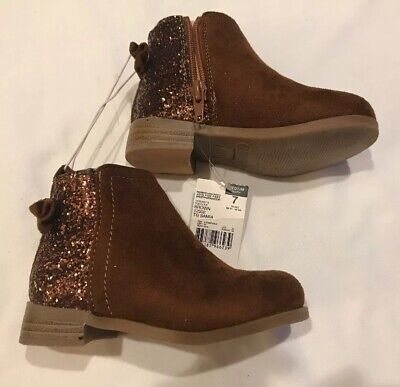 95d6cad43 GIRLS TODDLER PIPER Brown Boots Size 7 Medium NWT - $14.00 | PicClick