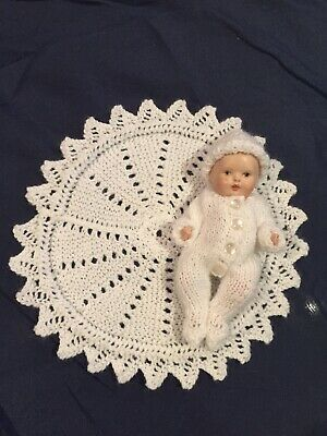 Hand Knitted Dolls Clothes For 6 Inch Doll