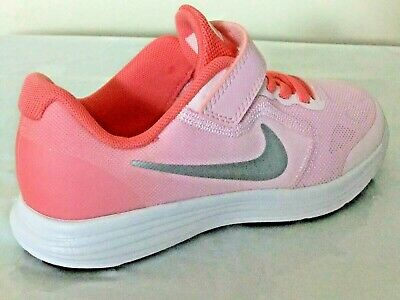 7398ed4a5a Nike Revolution 3 Girls Shoes Trainers Uk Size 10 - 2.5 819417 602 Strap Up