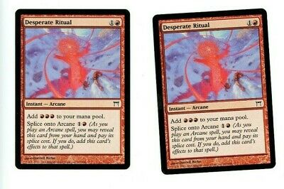 Desperate Ritual Common Magic Mtg X1 Champions Of Kamigawa Sp Collectible Card Games Toys Hobbies 67% of 4060 decks +66% synergy. red monitor