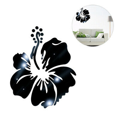 1PC Flower Acrylic Wall Sticker Creative Household Bedroom Wall Background Decal