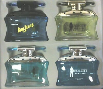NEW Sex in the City New York Gianni Edition 4pc x 100ml Cologne Set