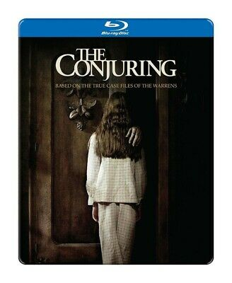 THE CONJURING (Blu-ray, Limited Edition) STEELBOOK-BRAND NEW & SEALED