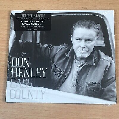 DON HENLEY - Cass County - Deluxe Edition CD *NEW & SEALED
