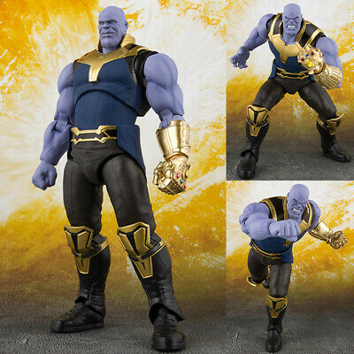 "6"" S.H.Figuarts SHF Marvel Avengers Infinity War Thanos Action Figure Statue Toy"