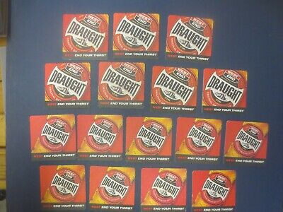 """2 complete sets WEST END Draught, / """"Famous Quotations """" Beer COASTERS"""